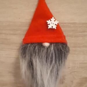 Bell Button Gnome Red