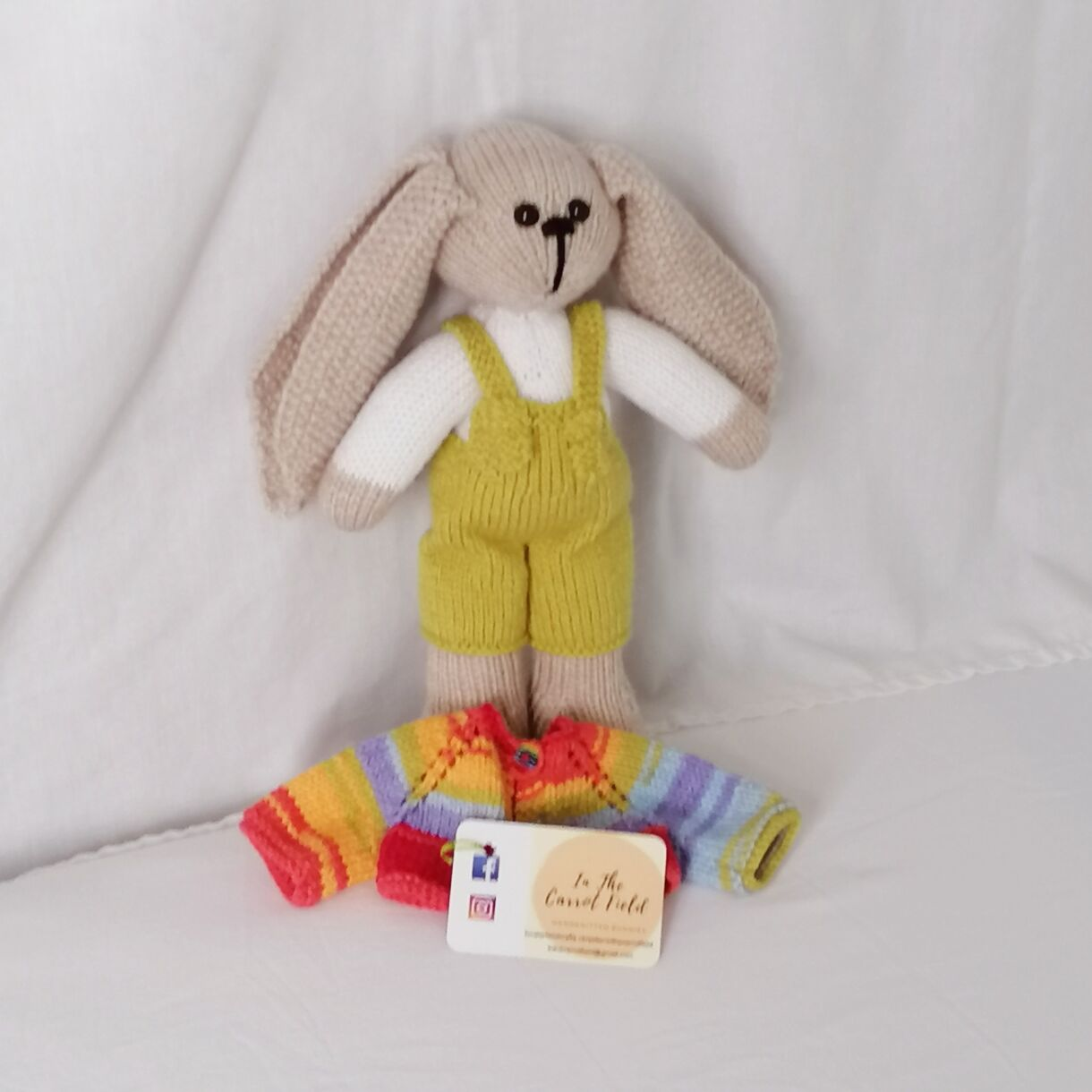 handknitted-rainbow-bunny-unique-gift-green-front-no-jacket