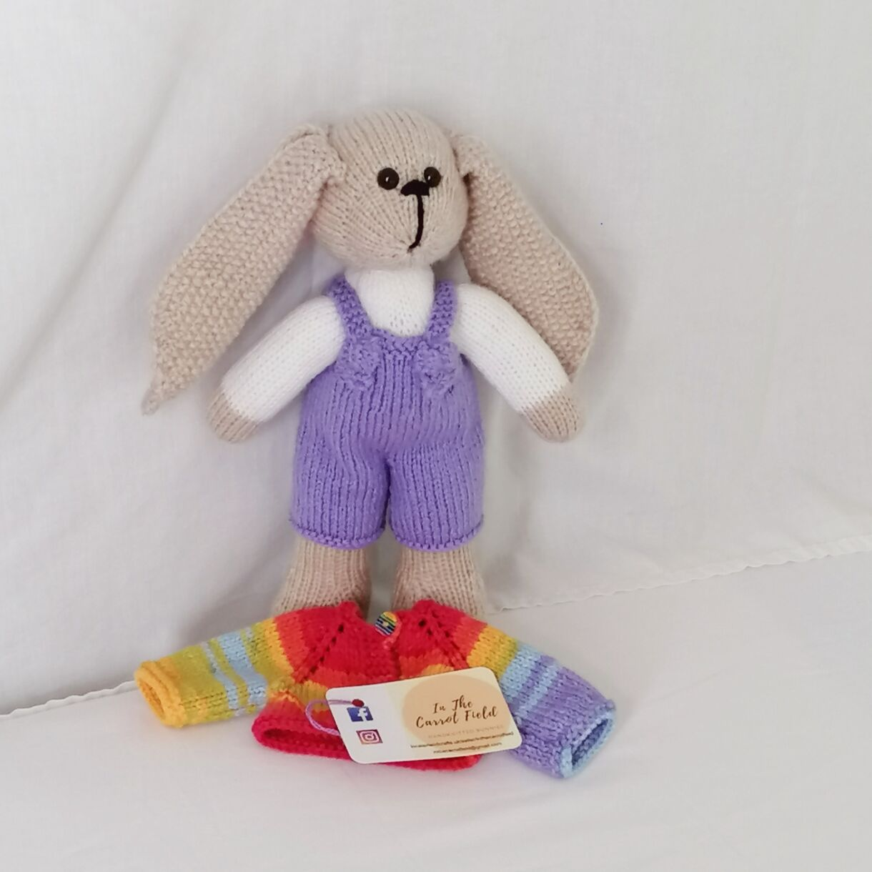 handknitted-rainbow-bunny-unique-gift-purple-front-no-jacket